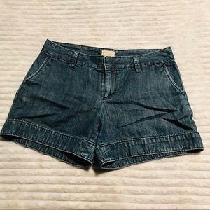 GAP High Waisted Denim Jean Mom Shorts size 2 26
